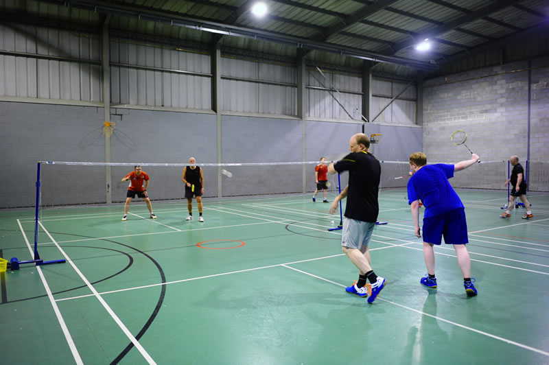 Four Oaks Badminton Club Sunday Night